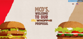 Burger King Just Offered McDonald's an Epic Olive Branch…and McD's turned it down