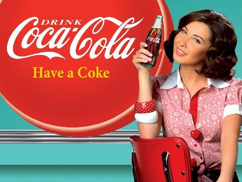 Nancy Ajram Coca Cola