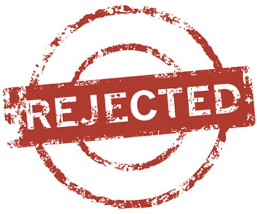 Client pitch rejection