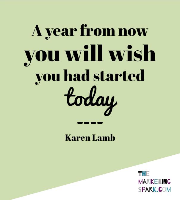 Business Quote Karen Lamb