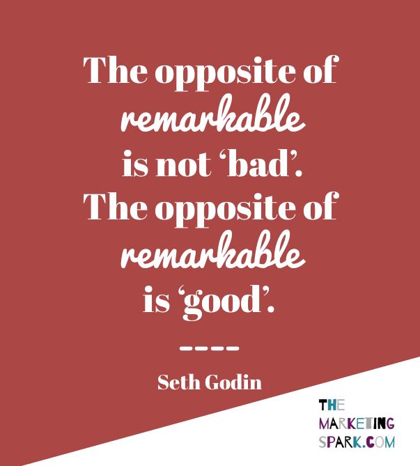 March 6 - Seth Godin Remarkable
